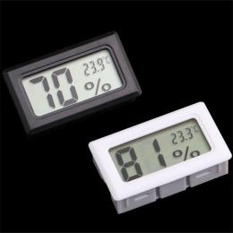 Longpean Mini LCD termometr cyfrowy higrometr temperatury w kuchni wewnątrz na zewnątrz czujnik temperatury miernik wilgotności