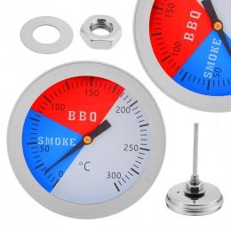 Termometr ze stali nierdzewnej Grill palacz Grill termometry 300 stopni wskaźnik temperatury Mayitr Grill termometr