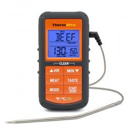 ThermoPro TP06S ulepszona wersja cyfrowy sonda kuchnia gotowanie żywności termometr do mięs z zegarem/Alarm temperatury