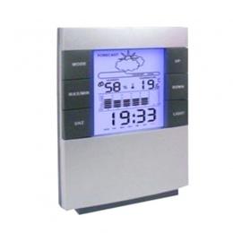 Gospodarstwa domowego cyfrowy wyświetlacz LCD termometr higrometr miernik temperatury i wilgotności kalendarz zegar Alarm