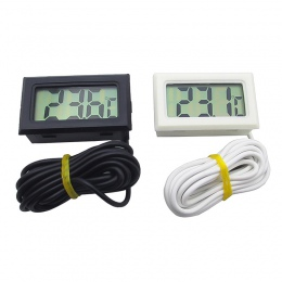 Hoomall cyfrowy Termometr LCD wodoodporna przenośne pompa głębinowa do pompowania wody precyzja elektroniczny Termometers pomiar