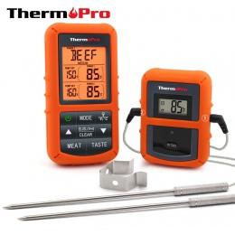 ThermoPro TP-20 pilot bezprzewodowy cyfrowy mięso grill, termometr piekarnika do użytku domowego sonda ze stali nierdzewnej duży