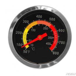 Ze stali nierdzewnej grill palacz termometr grillowy wskaźnik temperatury 50-800 stopni celsjusza 10-400 stopni celsjusza G22 Dr