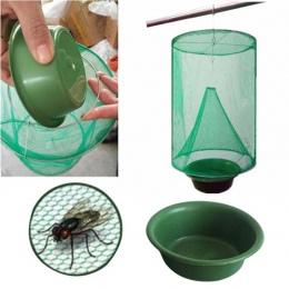 OGFFHH zdrowia 1 sztuk zwalczania szkodników wielokrotnego użytku wiszące lep na muchy zabójca Flytrap Zapper klatka netto pułap