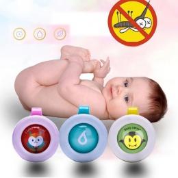 1/2/5/10 pc losowy kolor bransoletki odstraszający komary przyciski Mini lekki ładny kształt jazdy komary dla dzieci dla dzieci