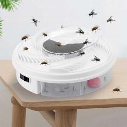 Elektryczny skuteczne pułapka na muchy szkodników urządzenie łapacz owadów automatyczne muchołówka mała pułapka na muchy wzrok a
