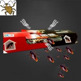 10 sztuk karaluch dom karaluch odstraszający pułapka Killing przynęty silne lepkie Catcher pułapki insekt odstraszacz szkodników