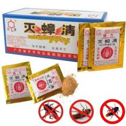 10 sztuk/partia skuteczne zabójca karaluch proszek przynęty specjalne środki do zwalczania szkodników Bug Beetle Cucaracha medyc