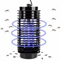 Elektryczny Mosquito do zabijania owadów lampa Led fotokatalizator komar morderca pułapka na muchy błąd do zabijania owadów puła