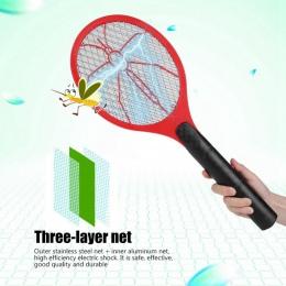 Lato gorące bateria bezprzewodowa moc elektryczna Fly packa na komary łapka na owady rakieta owady morderca domu łapka na owady