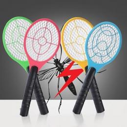 2018 nowy packa na komary zabójca elektryczny rakieta do tenisa rakieta tenisowa ręczna rakieta owad mucha Bug osy # XT