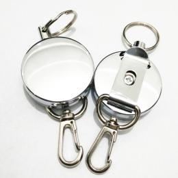 Nowy chowany Pull Key Ring ID smycz na identyfikator nazwa karta identyfikacyjna uchwyt na odrzutu kołowrotek zaczep na pasek me