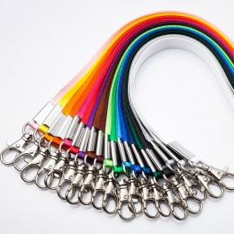 1 sztuk zagęścić czysty kolor na szyję smycze na klucze karty ID siłownia komórkowy paski do telefonu USB uchwyt na identyfikato
