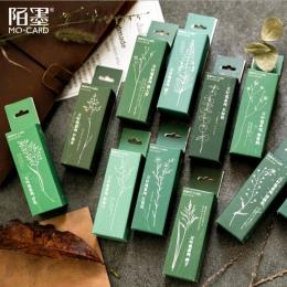 Vintage codzienne planowanie las rośliny ozdoba pieczęć drewniane i gumowe stemple do scrapbookingu materiały piśmienne DIY craf