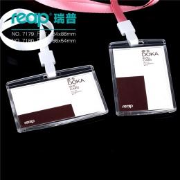 Czerpać 7179 PS 86*54mm z smycz ID/IC nazwa posiadacza karty tag odznaka dla dzieci nazwa labelSchool obóz biuro biznes