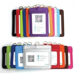 Wysokiej jakości Pu karty Id posiadacze kart przypadku Pu biznes kieszeń na karty firma i materiały biurowe