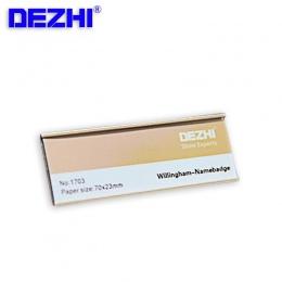 70*25mm hurtownie srebrny/złota przypinka w stylu i magnesy metalowe silnego pola magnetycznego, imię i nazwisko, adres, Tag odz