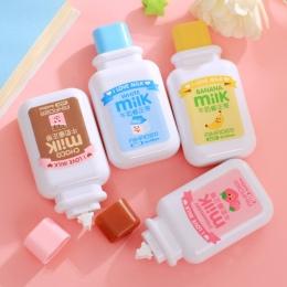 Cute Cartoon Kawaii taśma korekcyjna do mleka dla dzieci prezent szkolne materiały koreański biurowe nowość hurtownia produkt