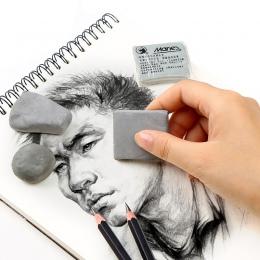 Maries plastyczność gumowe miękkie Eraser przetrzeć podkreślić porysowany guma dla sztuki Pianting projekt szkic rysunek plastel