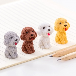 1 sztuk/partia Cartoon Cute Dog gumka do mazania artykuły szkolne do plastyki materiały biurowe nowość ołówek akcesoria korekcyj