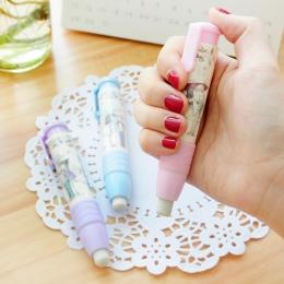Promocyjne piśmienne gumka wymienny połączenie słodki styl gumka Student nowe przybory szkolne dla dzieci prezent dla dzieci mat
