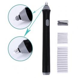 3 kolor elektryczny gumka do mazania używać baterii elektronicznych gumka dla dzieci rysunek prezent papiernicze artykuły szkoln