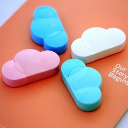 5mm X 5 m Deli śliczne Kawaii chmura Mini mała korekta taśma koreański słodki biurowe nowość biuro przybory szkolne dla dzieci d