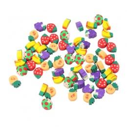 100 sztuk pyszne owoce kuchnia kształt gumka do mazania Student studium materiał papiernicze artykuły dziecko narzędzie do nauki