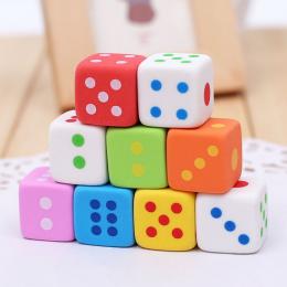1 Pc nowość kości w kształcie gumka do mazania dla dzieci 3D cukierki kolor gumka do mazania zabawki Kawaii biurowe szkolne mate