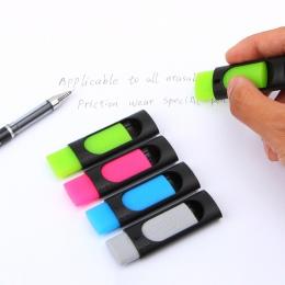 4 sztuk/partia atrament gumka tarcia kasowalna długopis 50mm * 20mm gumka do mazania kreatywne artykuły papiernicze dla dzieci p