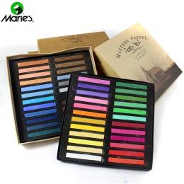 Marie's 12/24/36/48 kolory miękkie mistrzów pastelowe kolorowe rysunek kredą barwnik do włosów Art dostaw