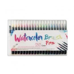 20 kolorów/lot zestaw profesjonalny akwarela malarstwo miękki pisak z pędzelkiem zestaw markery pióra artysta dostarcza Manga ko