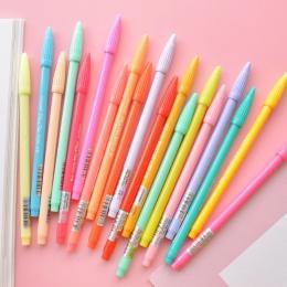 Wody-kolor długopis żelowy zestaw 12 24 36 kolor wody mikronów długopisy pisanie rysunek szkic biurowe artykuły biurowe materiał