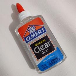 147 ml Elmers Elmer jest jasne, szkoła klej zmywalny 5 uncji E305 doskonale nadaje się do robienia szlamu kredki