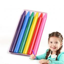 6 kolorów dla dzieci zabawki dla dzieci kredki nietoksyczny bezpieczeństwa dzieci kolor kredki dziecko dzieci kolor kredki rysun
