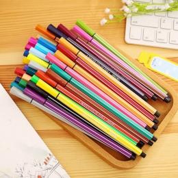 Deli nowość zmywalny akwarela długopis 12/18/24/36/kolory Lucky zestaw butelek dla studentów marker do malowania rysunek dostaw