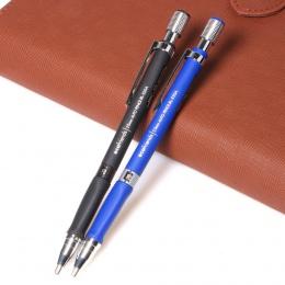 Nowy 1 sztuk 2.0mm czarny ołów mechaniczny ołówek do szkicowania niebieski/czarny do szkoły i materiały biurowe darmowa wysyłka
