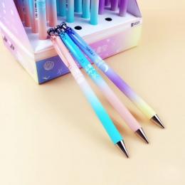 Śliczne Kawaii księżyc gwiazda plastikowy ołówek mechaniczny kreatywny Sky automatyczne długopisy dla dzieci pisanie szkolne kor