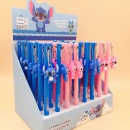 2 sztuk/partia Stitch boku naciśnij mechaniczny ołówek uczeń ołówek automatyczne pióro dla Kid szkolne materiały biurowe Escolar