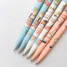 3X śliczne Sumikko Gurashi naciśnij automatyczne mechaniczne ołówek z gumką szkolne materiały biurowe szkolne materiały papierni