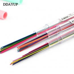 4 sztuk/partia 0.5mm 0.7mm kolorowe ołówek ołowiu ołówkiem Art szkic rysunku kolor ołowiu szkolne materiały biurowe