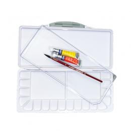 Superior nawilżający akwarela paleta profesjonalne plastikowe akwarela Art Palette dostaw paleta acuarela