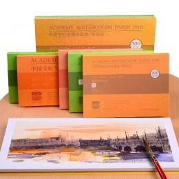 Barteen 100% bawełna profesjonalny papier akwarelowy 20 arkuszy ręcznie malowane akwarela Book dla artysty Student wszystkie szk