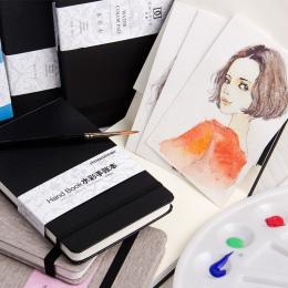 Eval 300g profesjonalny papier akwarelowy 24 arkusze kieszeń ręcznie malowane rozpuszczalne w wodzie książki dla artysty Student