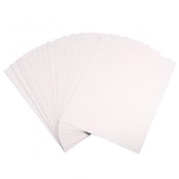 Kicute 100 sztuk A4 barwnik sublimacji folia termiczna papier do poliester bawełna T-Shirt kubek telefon etui 210x297mm