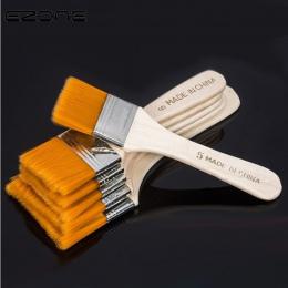 EZONE nylonowe włosy malowanie pędzlem olej akwarela proszku wody propylenu akrylowe Differeent rozmiar pędzle do malowania szko