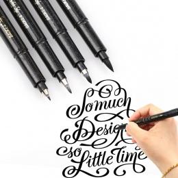 4 sztuk/partia chiński japoński pędzel do kaligrafii Art Craft Supplies biuro szkolne narzędzia do pisania