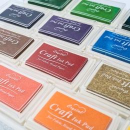 1 pc 15 kolory duży odcisk atramentowy pieczęć planner scrapbooking pieczęć silikonowa diy pamiętnik kartkę z życzeniami podejmo