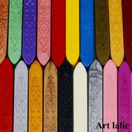 Lak kij Retro znaczki do list zaproszenia ślubne 90*10*10mm Vintage przewód knot woskowe pieczęcie na listy w stylu Vintage