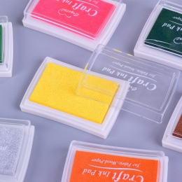 5.2*7.2 cm plac czysty kolor kolorowy atrament pad mini gąbka DIY pieczęć odcisk atramentowy artykuły papiernicze artykuły szkol